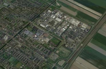 Luchtfoto van Nieuw-Vennep